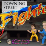 Downing Street Fighter Game Image